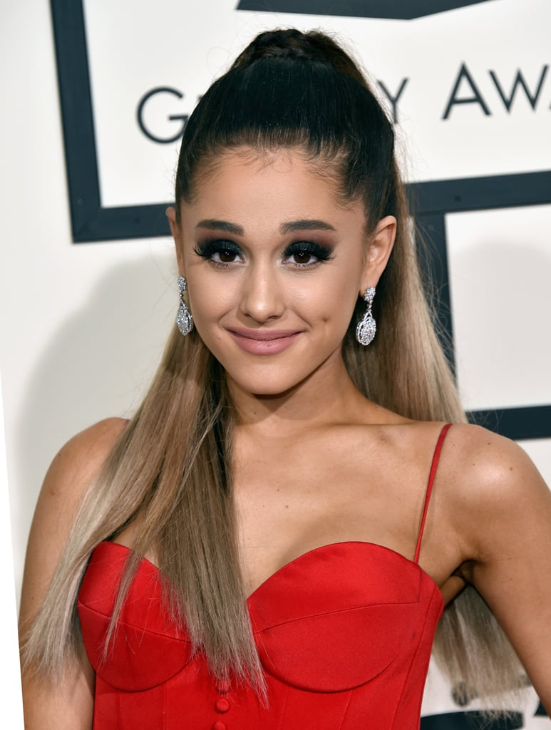 Ariana Grande S Hair And Makeup At The 2016 Grammy Awards