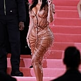 "So Camp: Kim Kardashian Redefining Her Sex Appeal in a ""Dripping"" Dress"