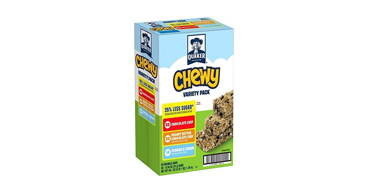 Quaker Chewy Granola Bars Best Ww Snacks On Amazon