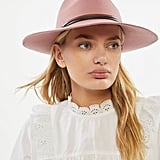 Two-Tone Felt Panama Hat