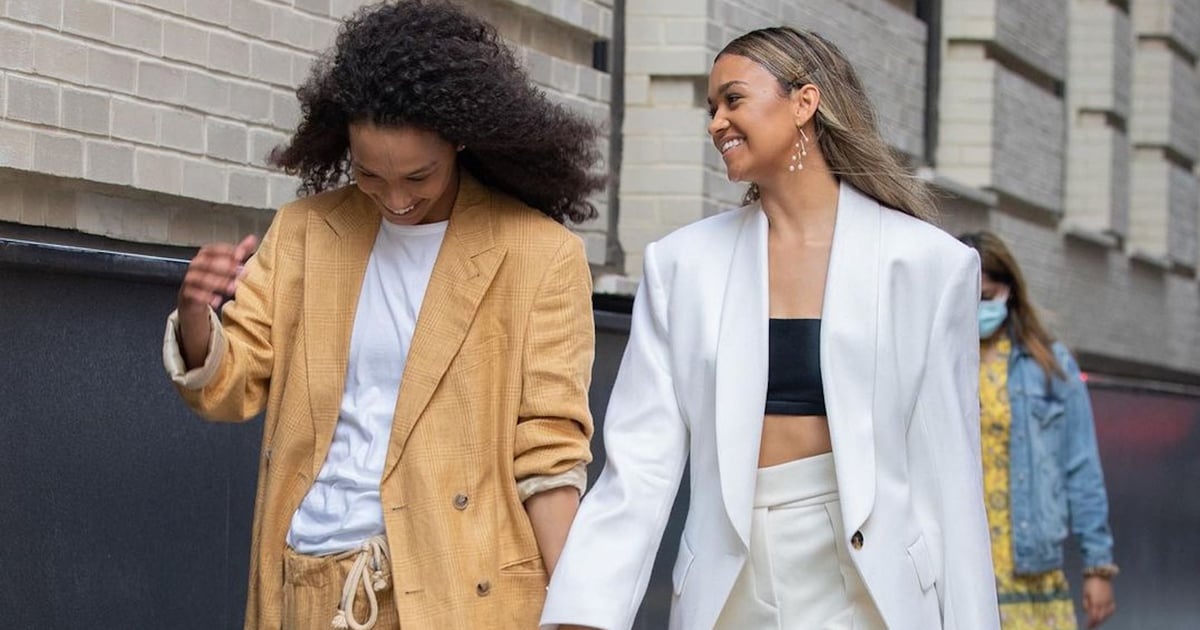 Madison Bailey and Mariah Linney Are Here to Show Fashion Week the Best Couple Style in Years.jpg