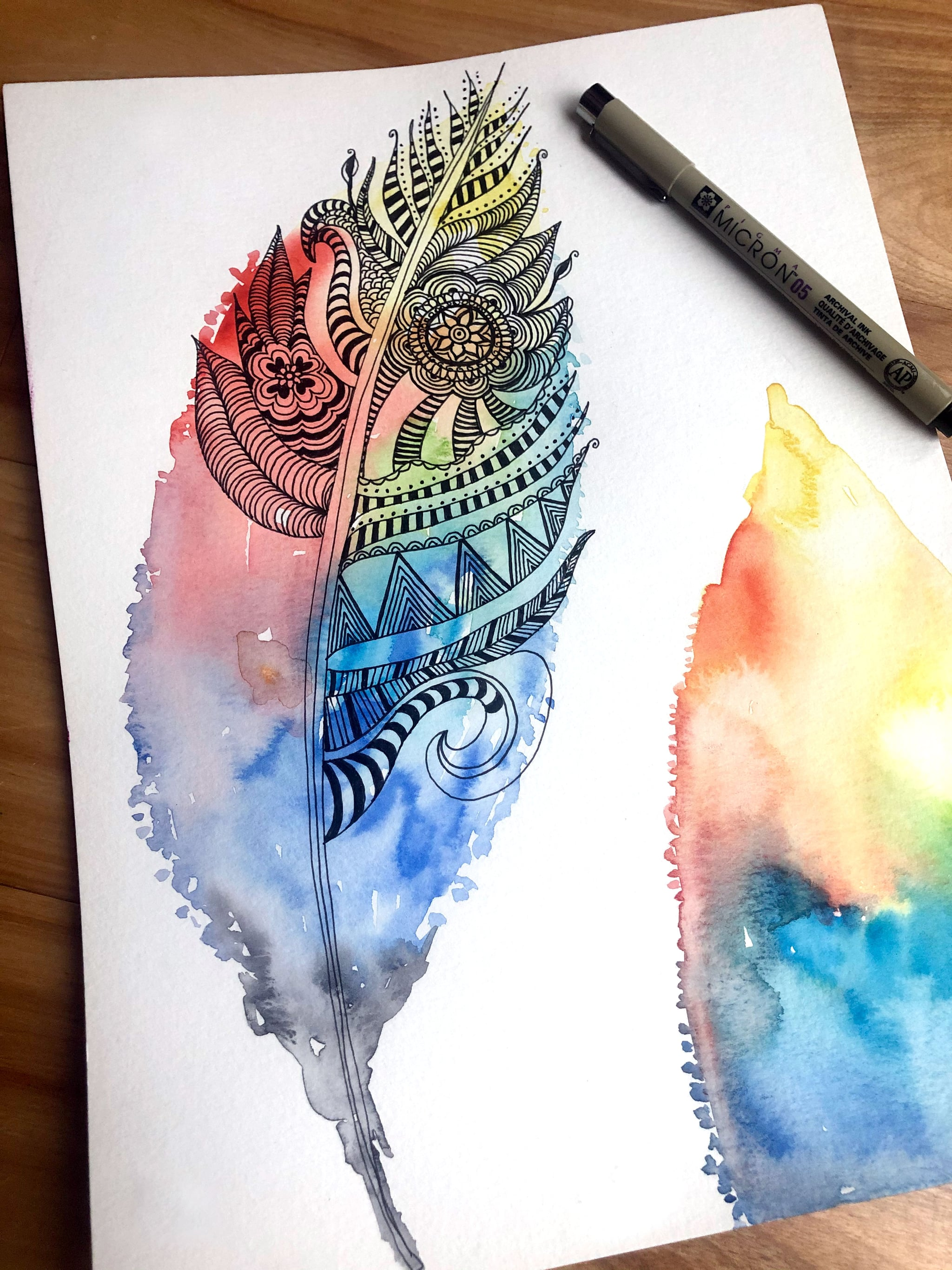 What Is Zentangle Drawing Meditation Popsugar Fitness