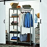 Better Homes & Gardens® Farmhouse Grey Wood and Metal Garment Rack