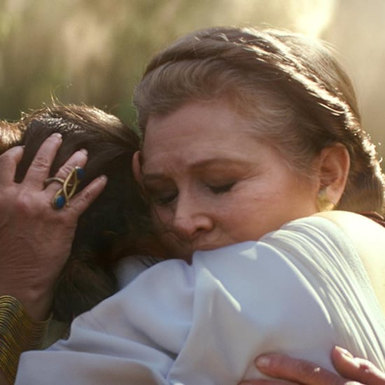 Is Carrie Fisher as Leia Organa in Star Wars: Episode IX?