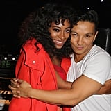 Solange Knowles and Designer Prabal Gurung