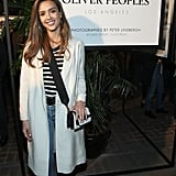 June at an Oliver Peoples Event in Los Angeles