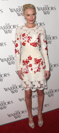 Bloomin' Beautiful! Kate Bosworth works a floral Erdem Dress At The Warriors Way in L.A