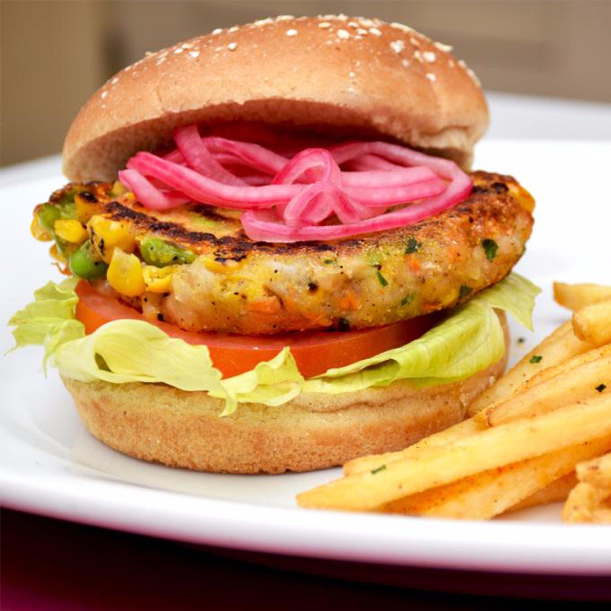Chef's Vegan Burger at Carnation Cafe