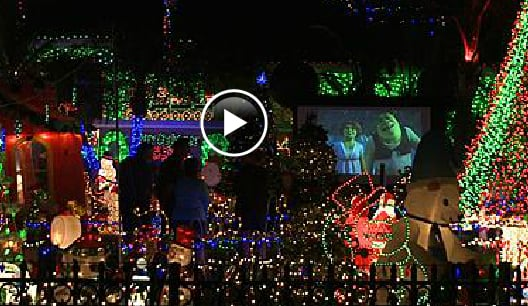 Massive Christmas Lights Display Has Neighbors Complaining