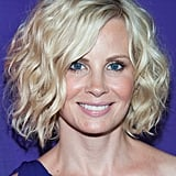 At the NBC Universal Summer Tour, Monica Potter tried on the trend of the season: a lob styled in effortless waves.