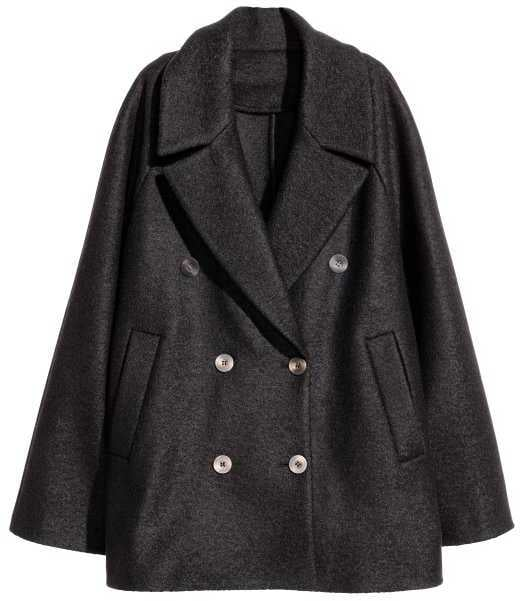 H&M Short Wool Coat