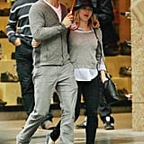 Pictures of Scarlett Johansson and Ryan Reynolds