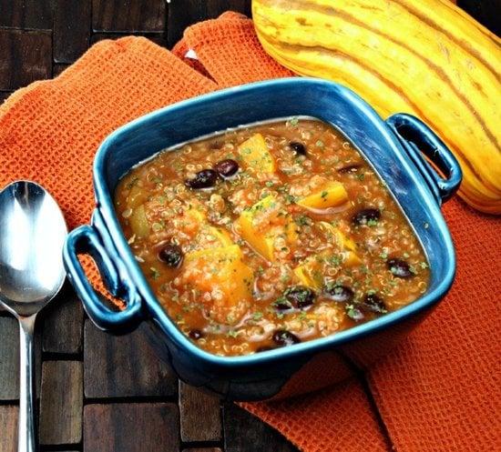 Vegan Squash and Quinoa Chili