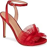 Halogen x Atlantic-Pacific Angelle Ruffle Sandals
