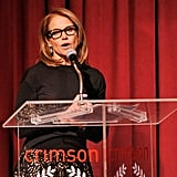 Katie Couric spoke at the event.