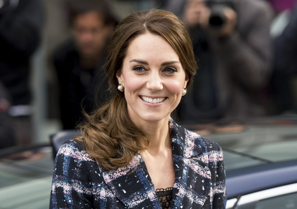 Kate Middleton's Hair in Topsy Tail Ponytail