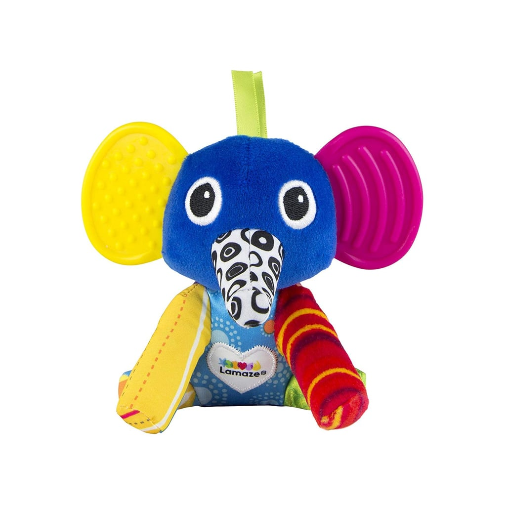 For Infants: Lamaze Mini Teether Ellie