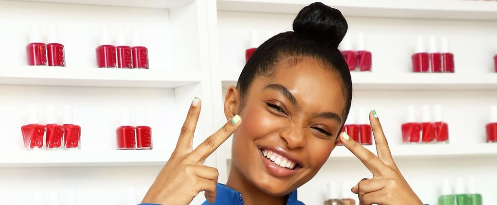 How Yara Shahidi Keeps Her Nails Healthy