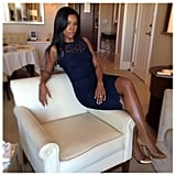 Sitting pretty came naturally to Gabrielle Union. Source: Instagram user gabunion