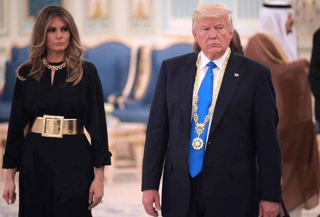 Melania Trump Channeling Jackie Kennedy's Style
