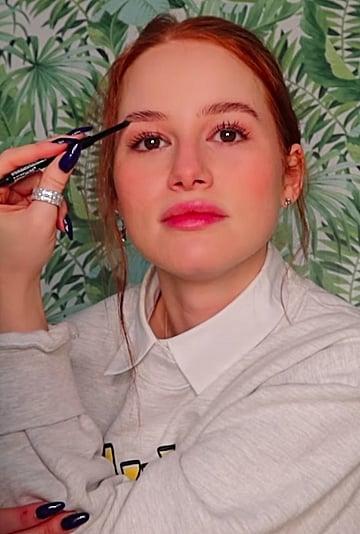 Watch Madelaine Petsch's Nondominant Hand Makeup Tutorial