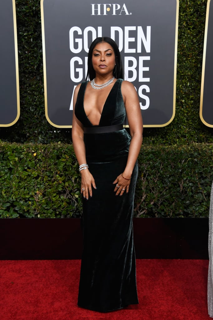 Taraji P. Henson at the 2019 Golden Globes