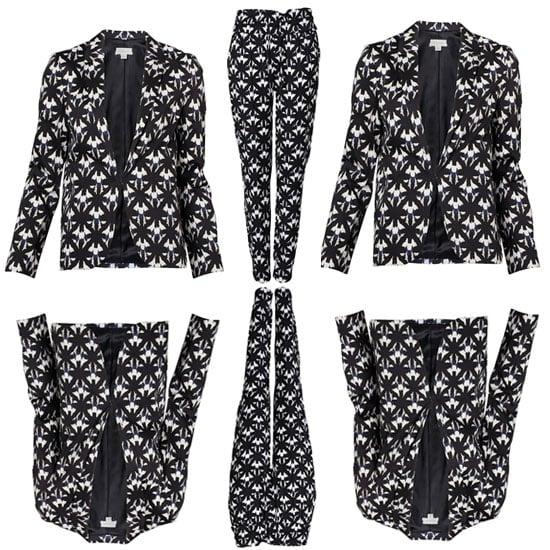 Top Five Printed Two Piece Suits for Summer: Graphic Short Suits, Tropical Print Trouser Suits: Shop Our Edit Online!