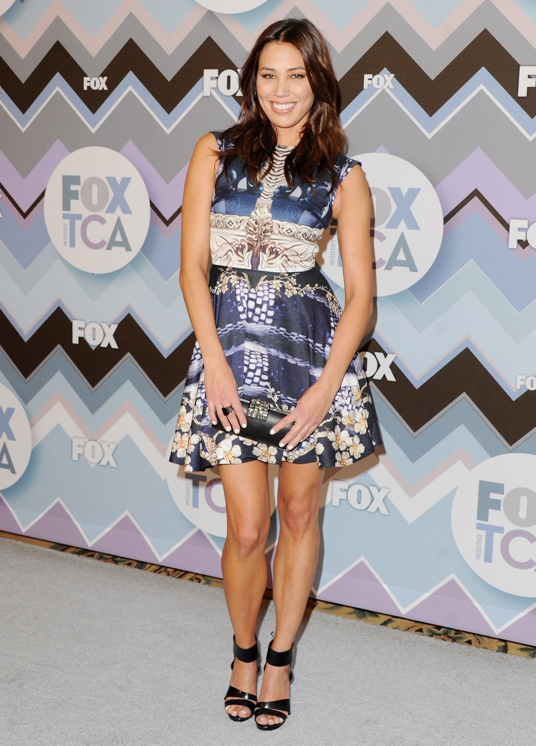 Michaela Conlin attended the FOX All-Star Party in LA.