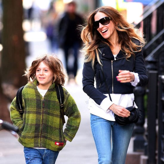 Sarah Jessica Parker Walking Kids to School Pictures