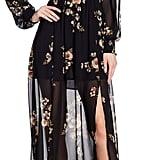 ASTR the Label Leslie Long Sleeve Print Dress