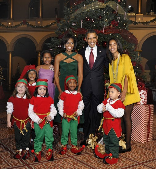 The First Family Celebrates Christmas in Washington, 2011