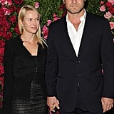 Naomi Watts arrived with Liev Schreiber to the Chanel dinner party at the 2012 Tribeca Film Festival.