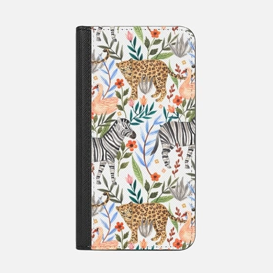 Casetify Moody Jungle Wallet Case