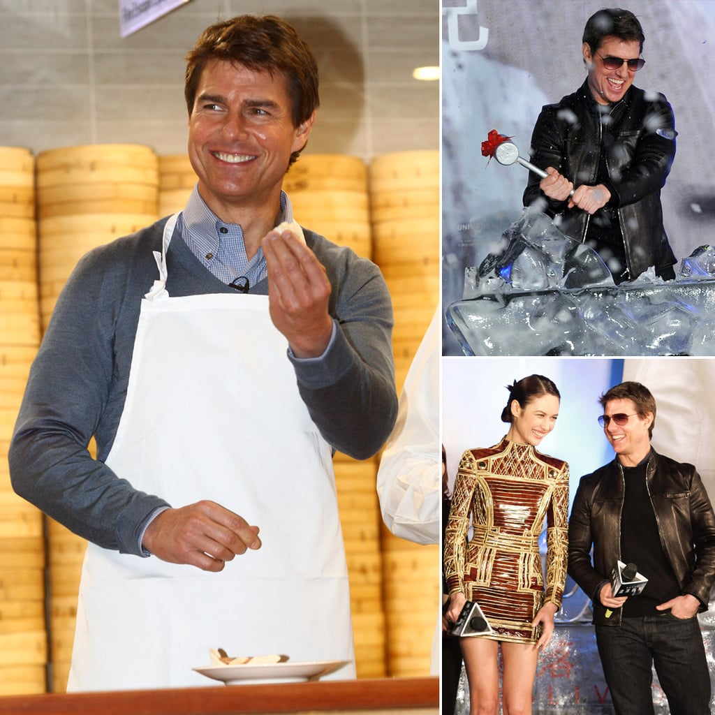 Tom Cruise Promoting Oblivion in Taiwan | Pictures