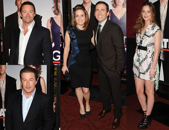 Photos From New York Date Night Premiere Including Leighton Meester Tina Fey Steve Carell Hugh Jackman