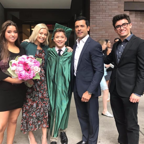 Kelly Ripa and Mark Consuelos Son Joaquin Graduation Photo