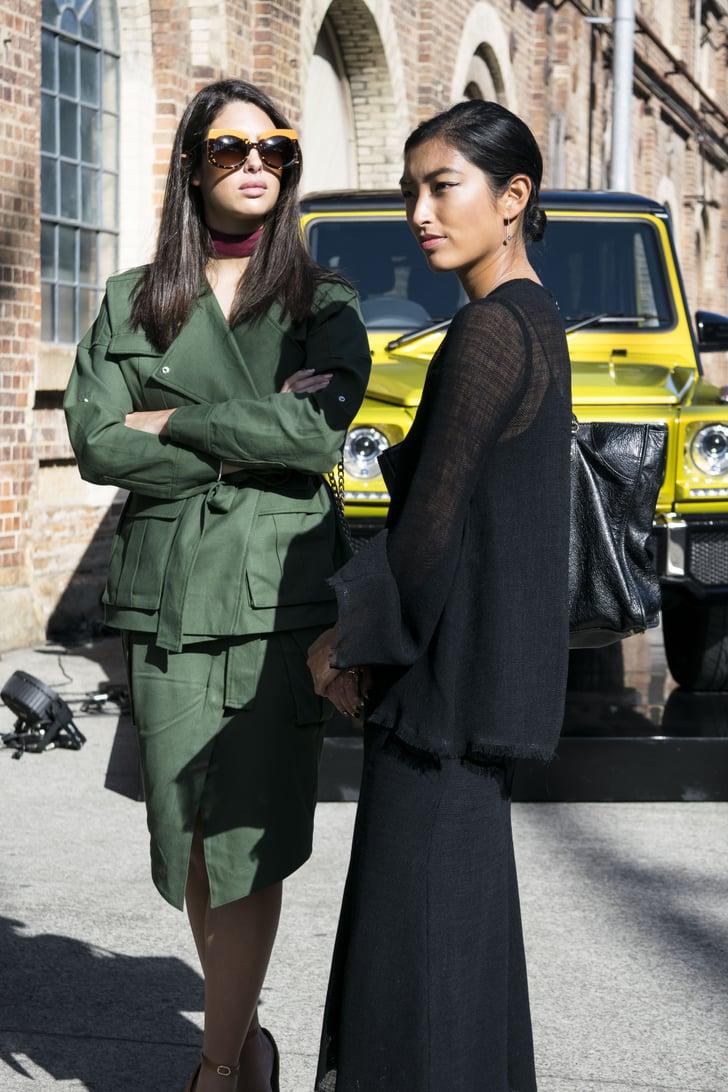 Australian Fashion Week 2016 Street Style Trend Popsugar Fashion Australia Photo 13