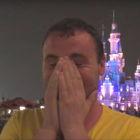 Guys Getting Emotional at Shanghai Disneyland | Video