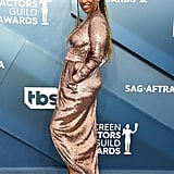 Merrin Dungey at the 2020 SAG Awards
