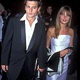 Johnny Depp et Kate Moss en 1989