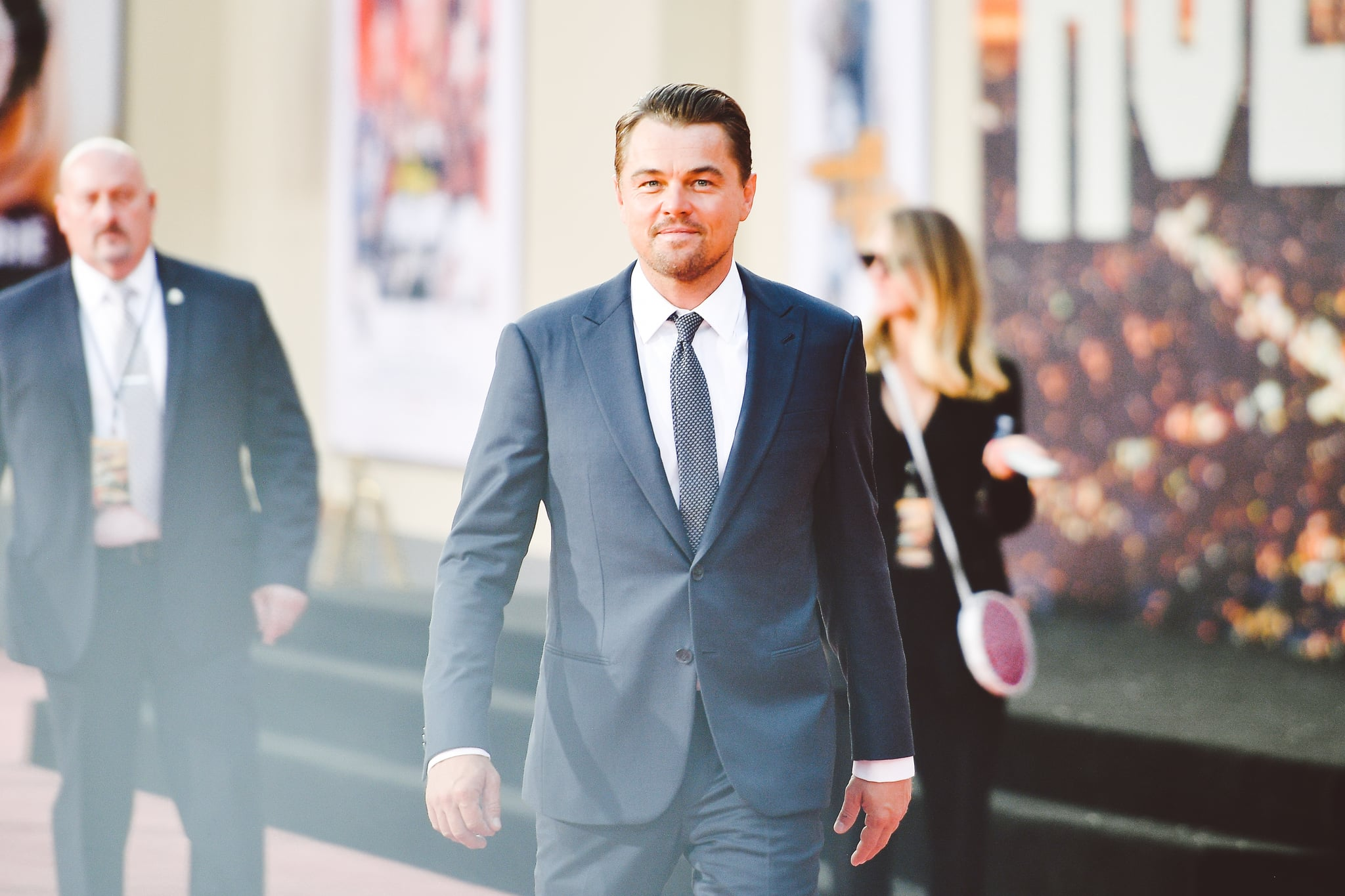 HOLLYWOOD, CALIFORNIA - JULY 22:  (EDITORS NOTE: Image has been edited using digital filters) Leonardo DiCaprio attends Sony Pictures'