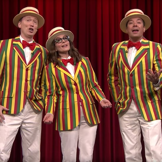 The Ragtime Gals Singing Bruno Mars With Tina Fey Video 2017