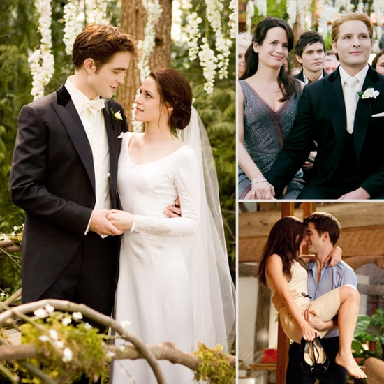 twilight breaking dawn wedding pictures popsugar