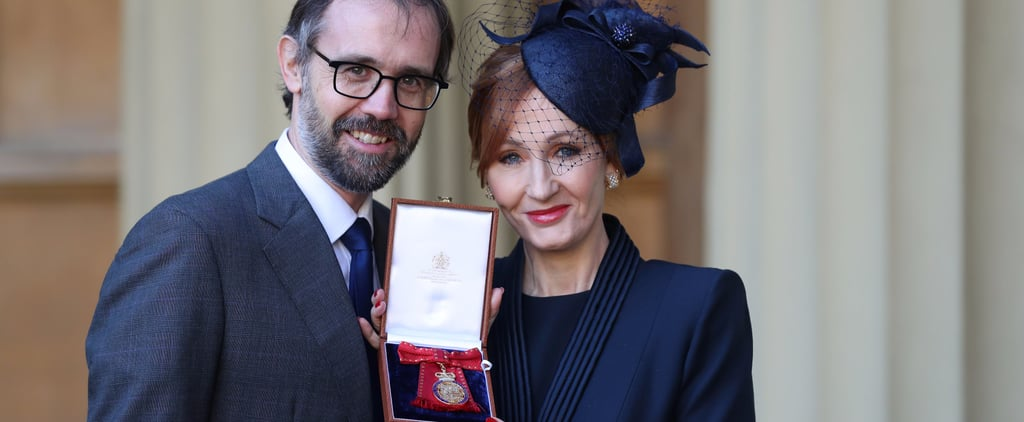 JK Rowling Is Made Companion of Honor by Prince William