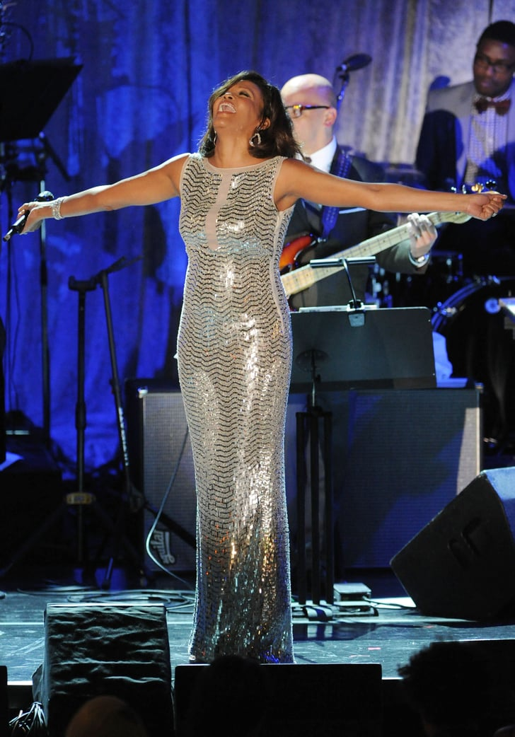 Performing In 2011 Whitney Houston S Most Stylish