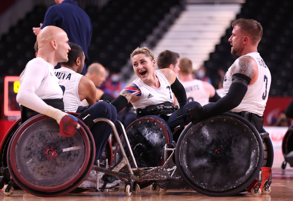 Kylie Grimes 1st Woman Win Wheelchair Rugby Paralympic Gold