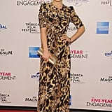 Olivia Wilde smiled at the premiere of The Five Year Engagement during the 2012 Tribeca Film Festival.