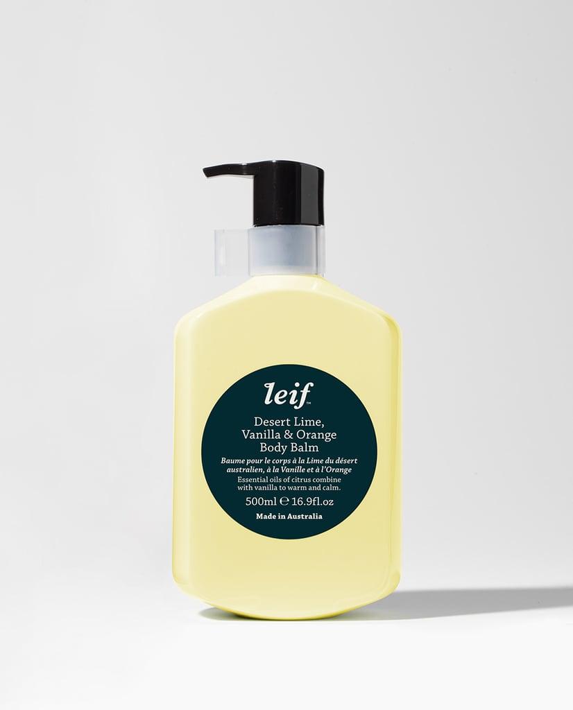 Leif Desert Lime, Vanilla, and Orange Body Balm
