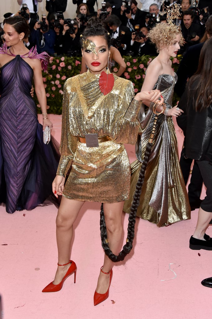 Indya Moore at the 2019 Met Gala