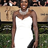 ICYMI: Viola Davis Kept a Pair of Slippers in Her SAG Awards Clutch